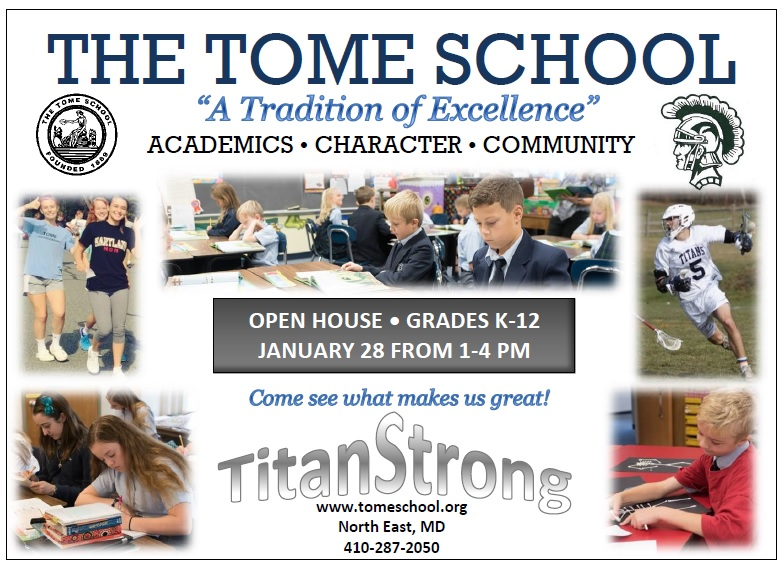Admissions Open House on January 28